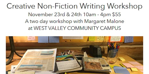 Creative Non-Fiction Writing Workshop