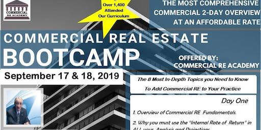 Commercial Real Estate BootCamp from Foundations to Syndications