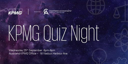 KPMG Student Quiz Night 2019 - Auckland