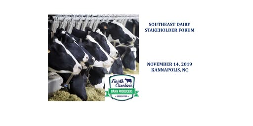SE Dairy Stakeholder Forum