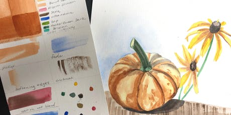 Nature Watercolor Workshop - Fishers tickets