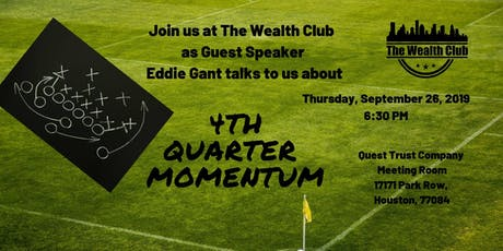 4th Quarter Momentum with Guest Speaker Eddie Gant tickets