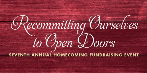 2019 Homecoming Gala: Recommitting Ourselves to Open Doors