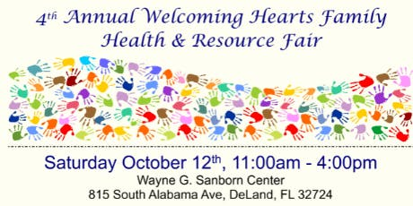 4th Annual Welcoming Hearts Family Health & Resource Fair