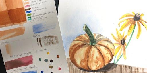 Nature Watercolor Workshop - Muncie