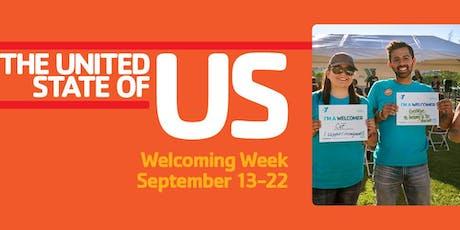 Welcoming Week tickets