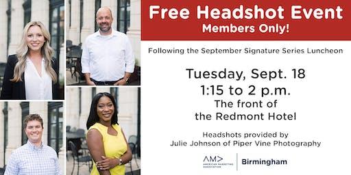 AMA Birmingham - Member's-Only Headshots