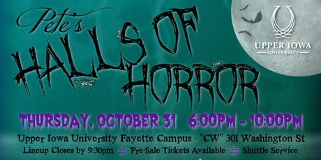Pete's Halls of Horror tickets