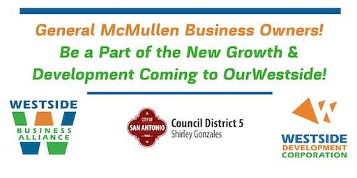 General McMullen Westside Business Alliance Meeting
