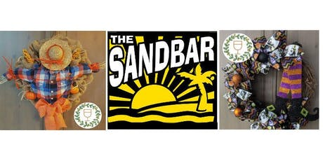 Halloween Wine & Wreaths at The Sandbar tickets