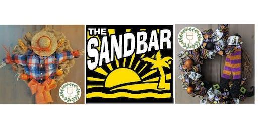 Halloween Wine & Wreaths at The Sandbar