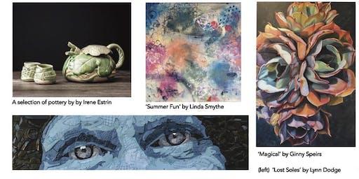 Santa Barbara Visual Artists Opening Reception for Pop Up Gallery