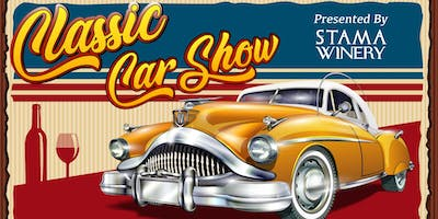 Classic Car Show hosted by Stama Winery