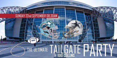 The Ultimate Tailgate Party (Dolphins @ Cowboys) tickets
