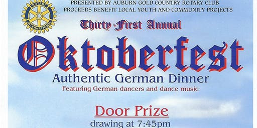 Gold Country Rotary Oktoberfest