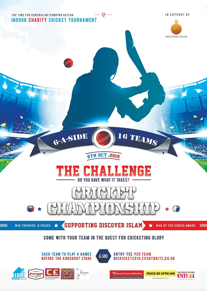 The Challenge - Indoor Cricket Tournament image