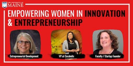 Empowering Women in Innovation & Entrepreneurship tickets
