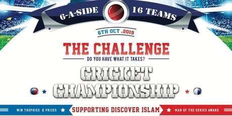 The Challenge - Indoor Cricket Tournament tickets