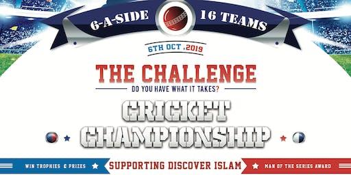 The Challenge - Indoor Cricket Tournament