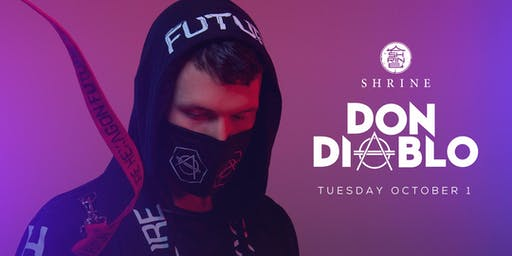 [POSTPONED] I Love Tuesdays feat. Don Diablo 10.1.19