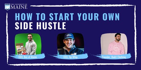 How  to Start Your Own Side Hustle tickets