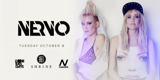 I Love Tuesdays feat. Nervo 10.8.19