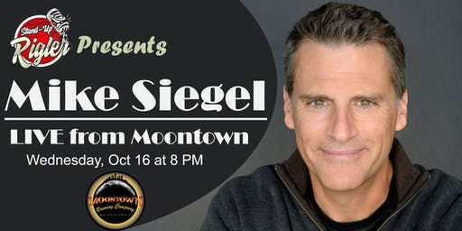 Mike Siegel LIVE from Moontown