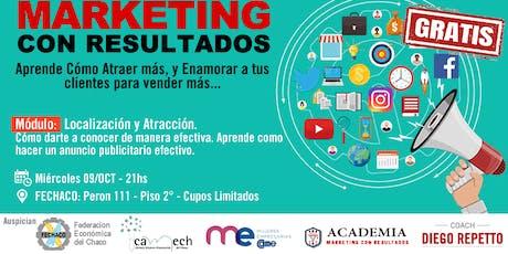 Curso Marketing con Resultados - Modulo 7 - Localización y Atracción entradas