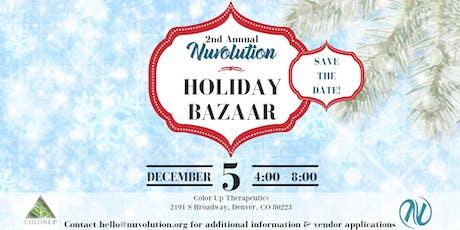 Nuvolution Holiday Bazaar Vendors tickets