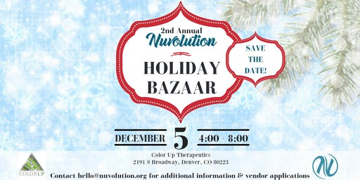 Nuvolution Holiday Bazaar Vendors
