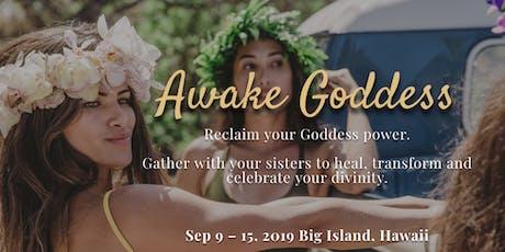 Awake Goddess WorkShops tickets