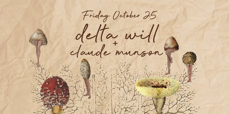 Delta Will w/ Claude Munson tickets