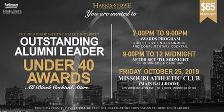 SOLD OUT! 2019 HSSU Outstanding Alumni Leader Under 40 Awards  tickets