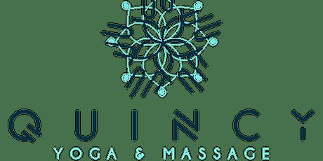 Gentle Yoga @ Quincy Yoga & Massage tickets