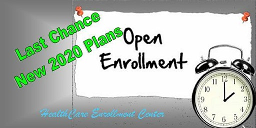 Last Chance Healthcare Weekend Open Enrollment