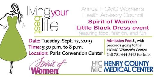 Living Your Best Life - HCMC Women's Health Advisory Council Spirit of Women Little Black Dress Event