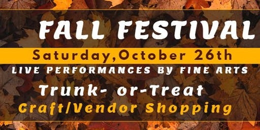 Fellowship Academy - Fall Festival & Fine Arts Presentation