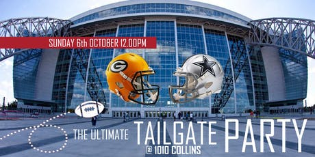 The Ultimate Tailgate Party (Packers @ Cowboys) tickets