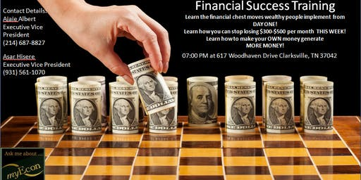Financial Success presented by Xclusive Financial Class