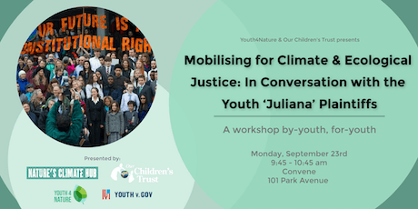 Mobilising for Climate & Ecological Justice: In Conversation with Youth tickets