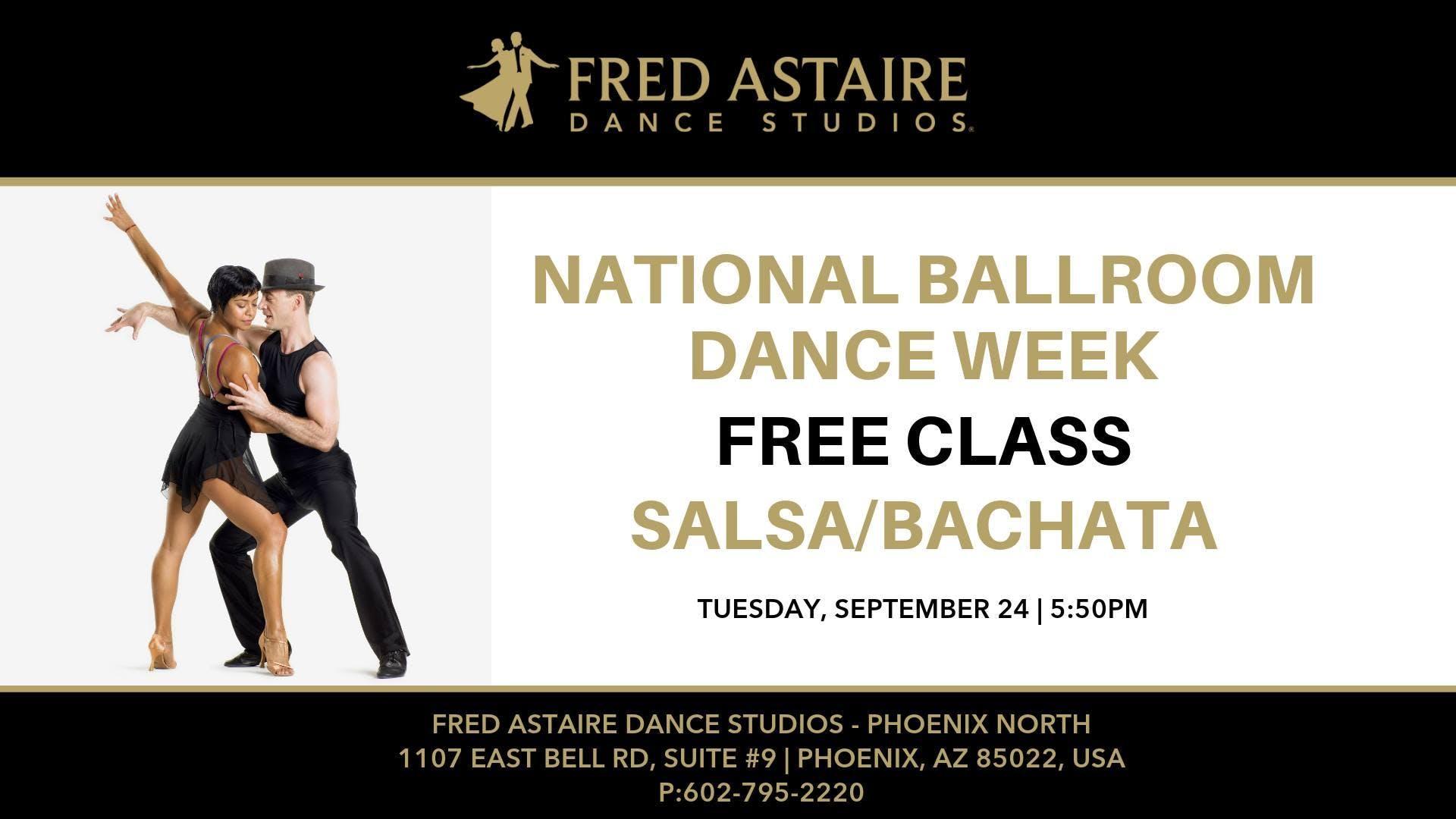 Free Beginners Salsa/Bachata Class