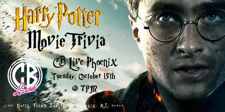 Harry Potter Movie Trivia at CB Live Phoenix tickets