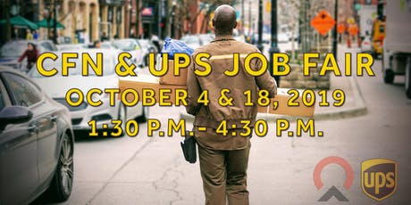 Centre for Newcomers & UPS Job Fair tickets