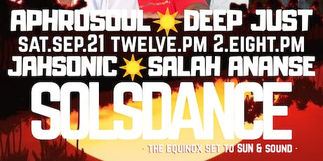 SOLSDANCE: the equinox set to sun & sound tickets