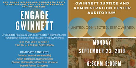 Engage Gwinnett  tickets