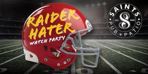 Raider Hater Watch Party