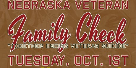 Nebraska Veteran Family Check tickets