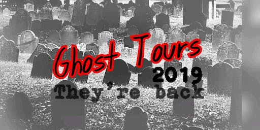 Ghost Tours 2019 - Wellington Pick-Up