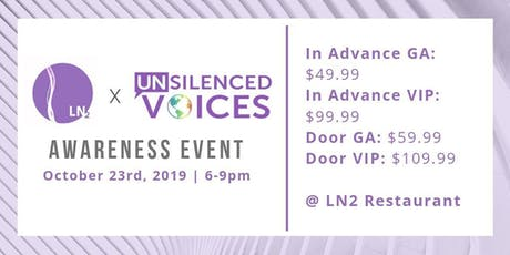 LN2 x Unsilenced tickets