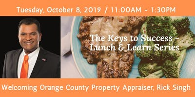 Keys to Success Lunch & Learn with Rick Singh, OCPA